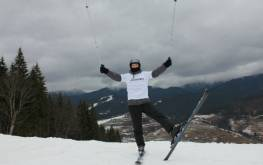 Как я катался на лыжах в Буковеле