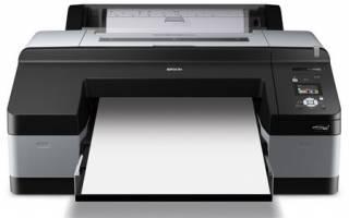 Обзор принтера Epson Stylus Pro 4900