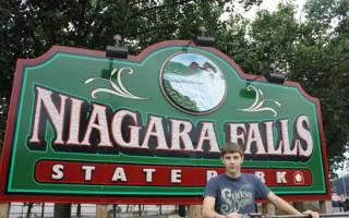 Ниагарский водопад в США (фотографии и видео).
