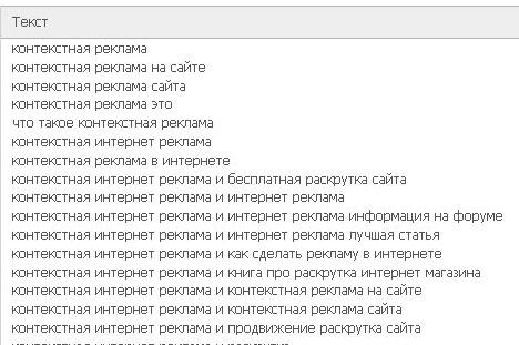 генерация анкоров сервисом webeffector.ru
