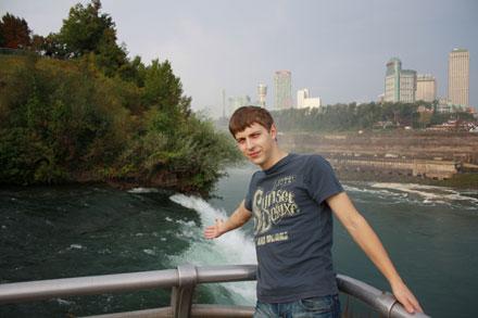 средний водопад на Ниагаре