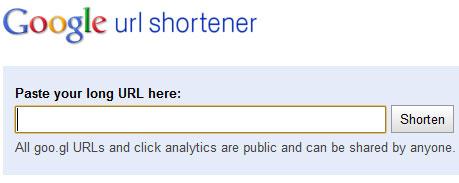 укорачиваетль ссылок от Google