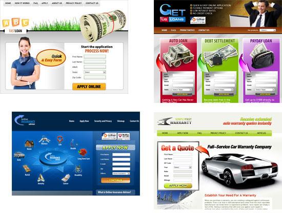 примеры сайтов партнерской программы T3leads
