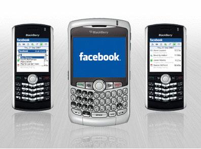 новое приложение Facebook для телефонов blackberry
