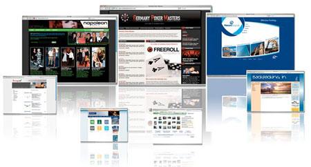 Типы и виды сайтов