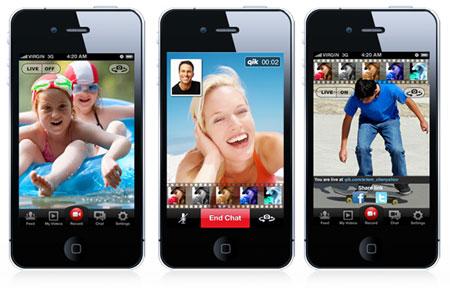 Qik Video Connect - приложение для iPhone