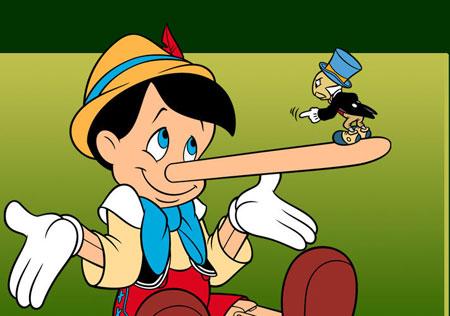 нос Пиноккио