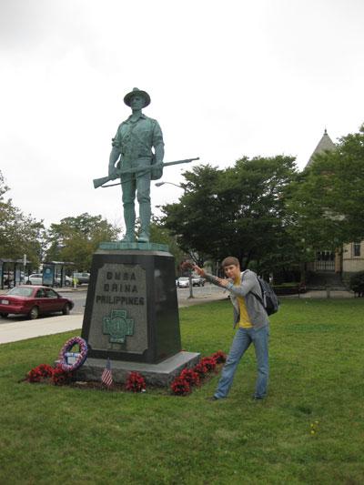 памятник в Бостоне