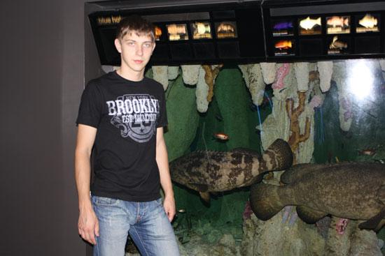рыбы в бостонском аквариуме