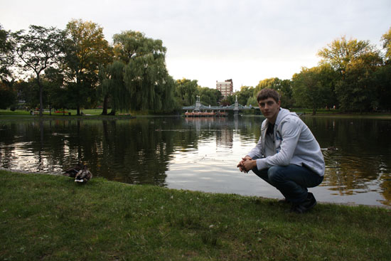 парк в Бостоне