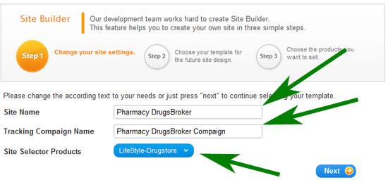 создание своей аптеки - шаг 1