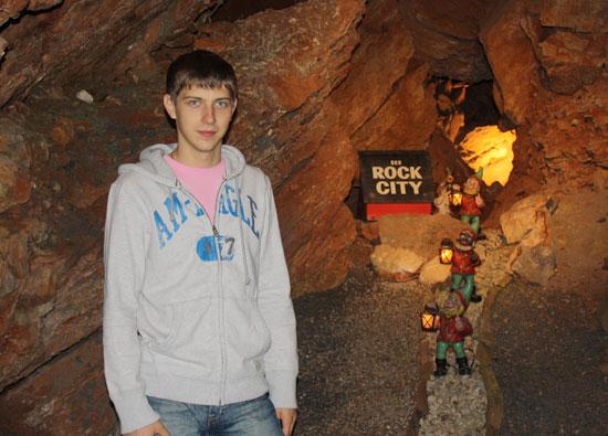 гномики в пещере