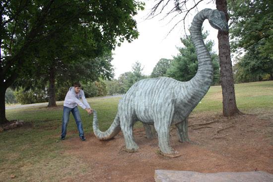 я и динозавр