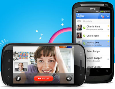 skype 2.0 для android