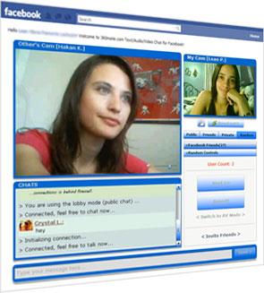 Видео чат в Facebook