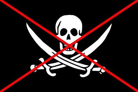 нет пиратскому контенту