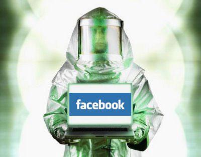вирус в facebook