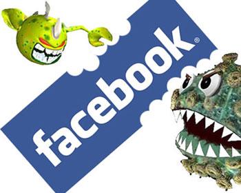 вирусы в facebook