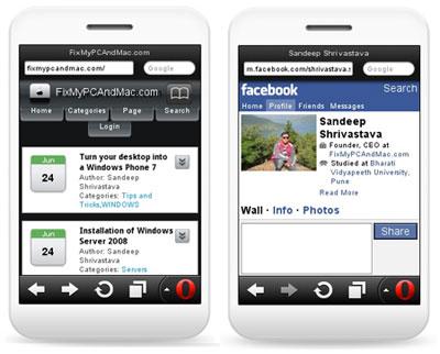 мобильная версия facebook