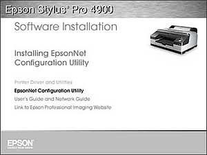 установка принтера epson 4900