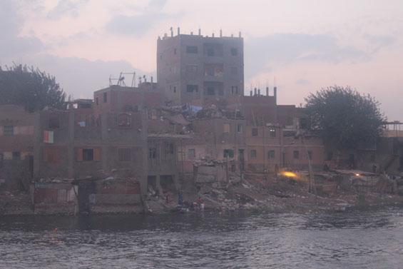 жители около реки Нил