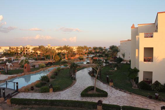территория египетского отеля regency plaza 5*