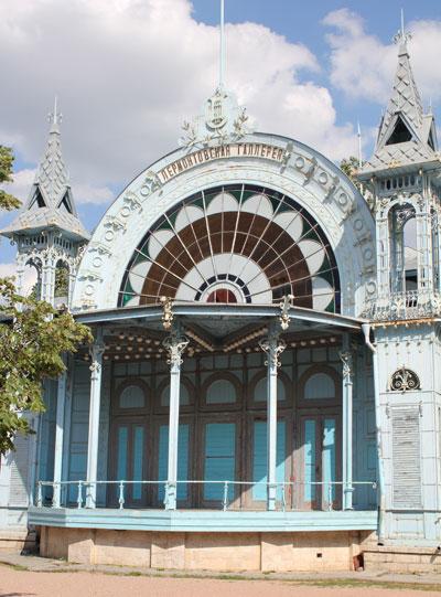 Лермонтовская галерея в Пятигорске