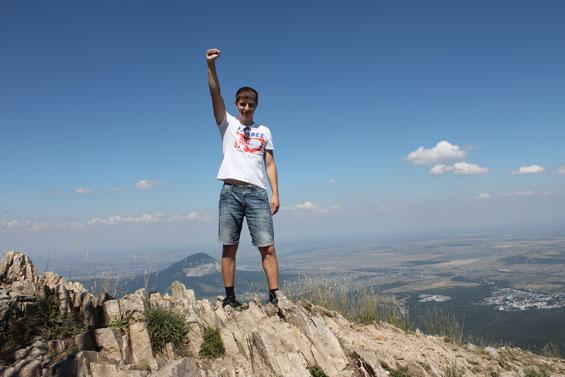 покорение горы Бештау