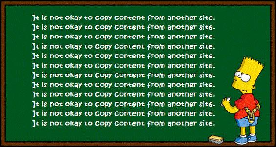 использование неуникального контента на сайте