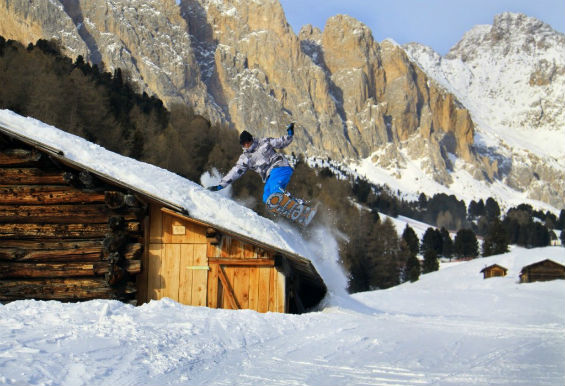 Вадим на сноуборде