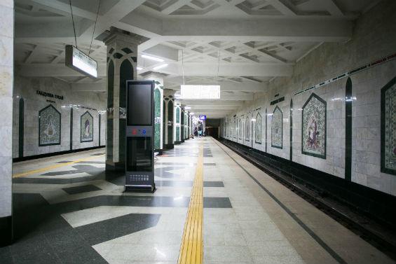 одна из станций казанского метрополитена