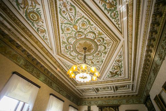 потолок читального зала