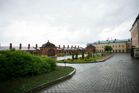 Казанский кремль внутри