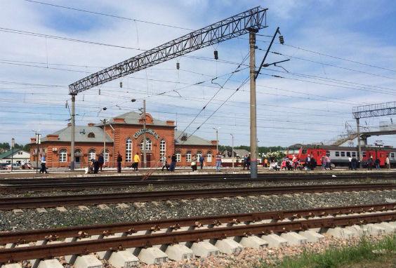 жд станция Свияжск