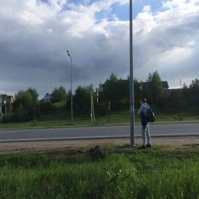 ждем автобус