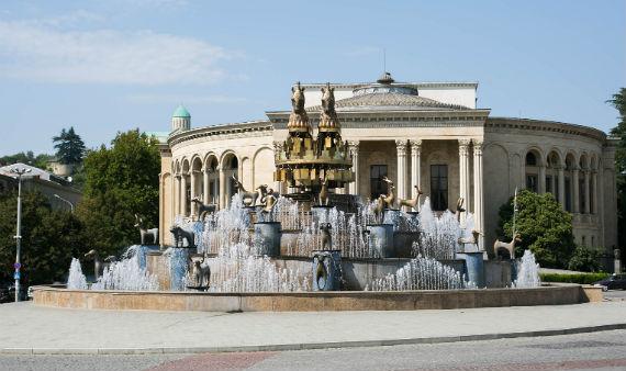 Главный фонтан Кутаиси