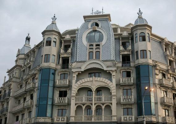 здание в Старом Батуми