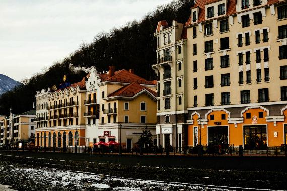архитектура в европейском стиле