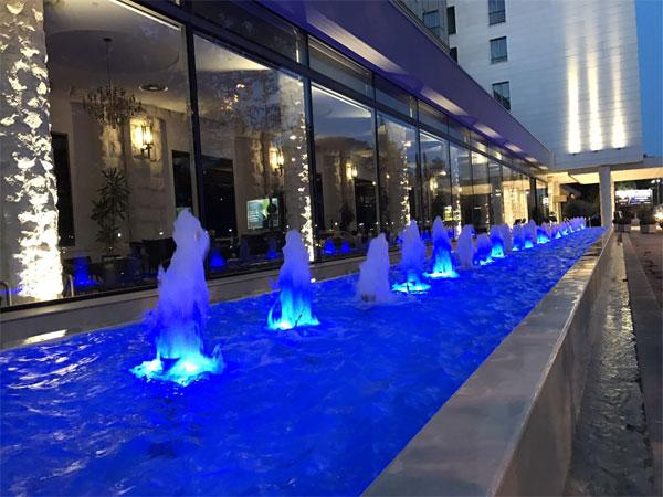 фонтан при гостинице
