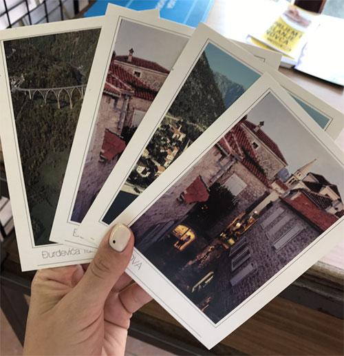 открытки из Черногории