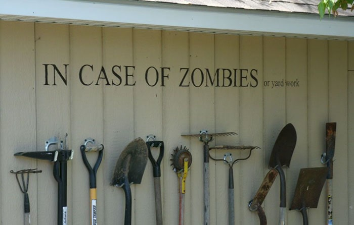 взять в случае нападения зомби