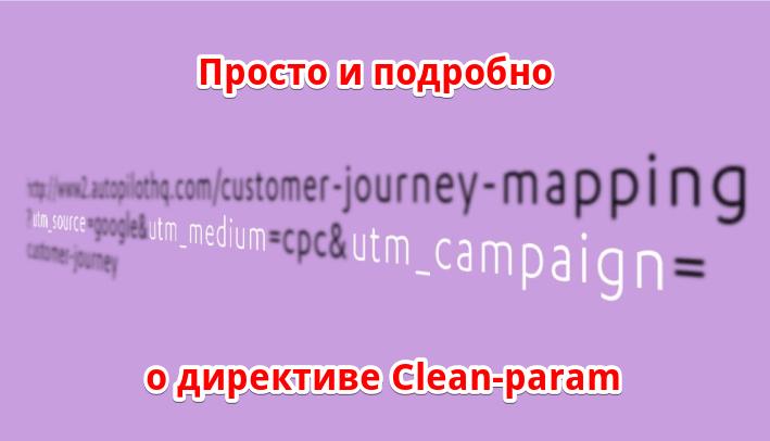 директива clean-param
