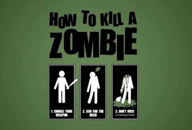 как убить зомби