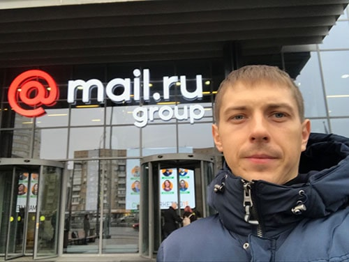 офис mail.ru, еще не проснулся =)