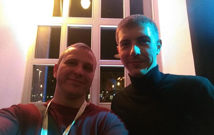 с Петром Селфиным