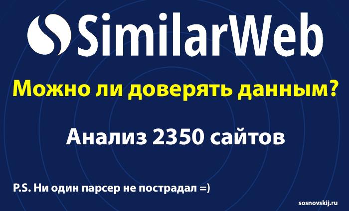 similarweb - анализ