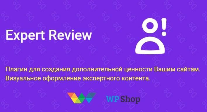 плагин Expert Review