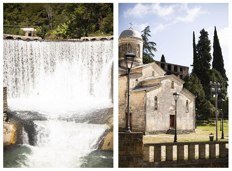 электростанция и монастырь