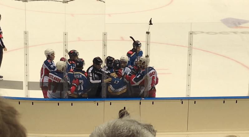хоккейная драка