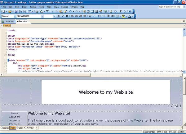 программа microsoft frontpage